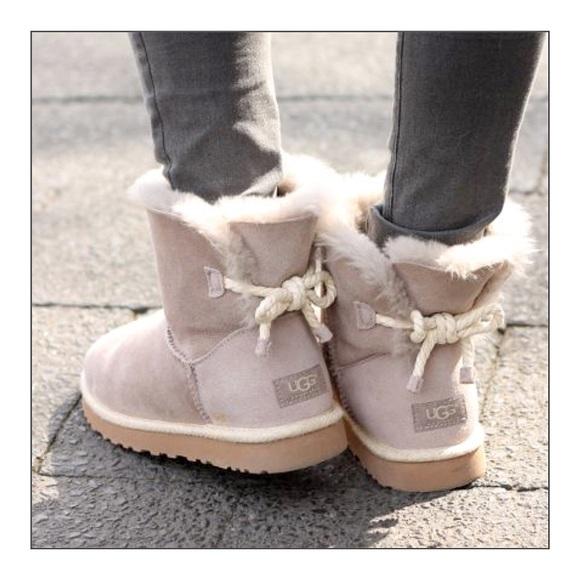 93ba34898a6 Ugg Selene Lamb Fur Boots NWT